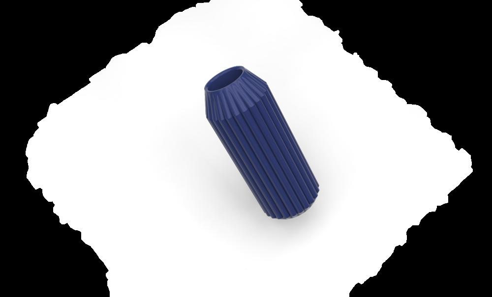 Striped Vase