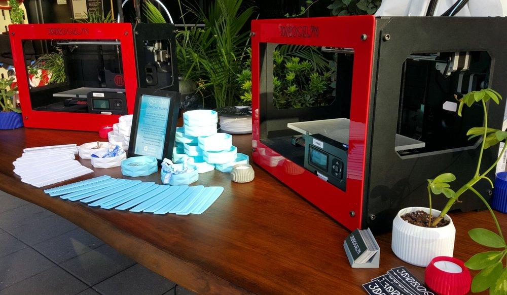 3D print live event