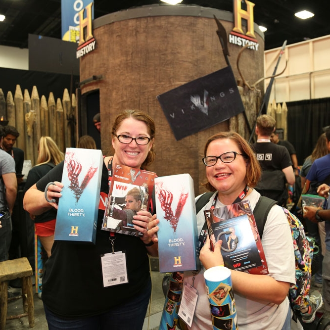 History Vikings 3D printing Comic Con