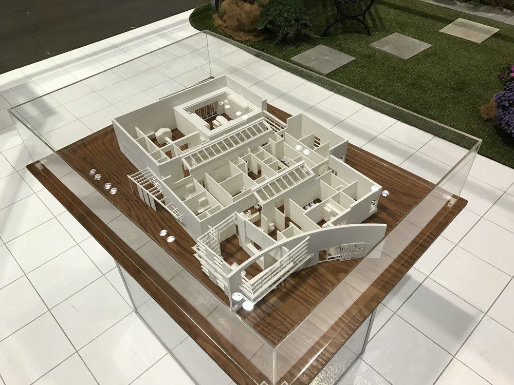architectural scale model 3d printed