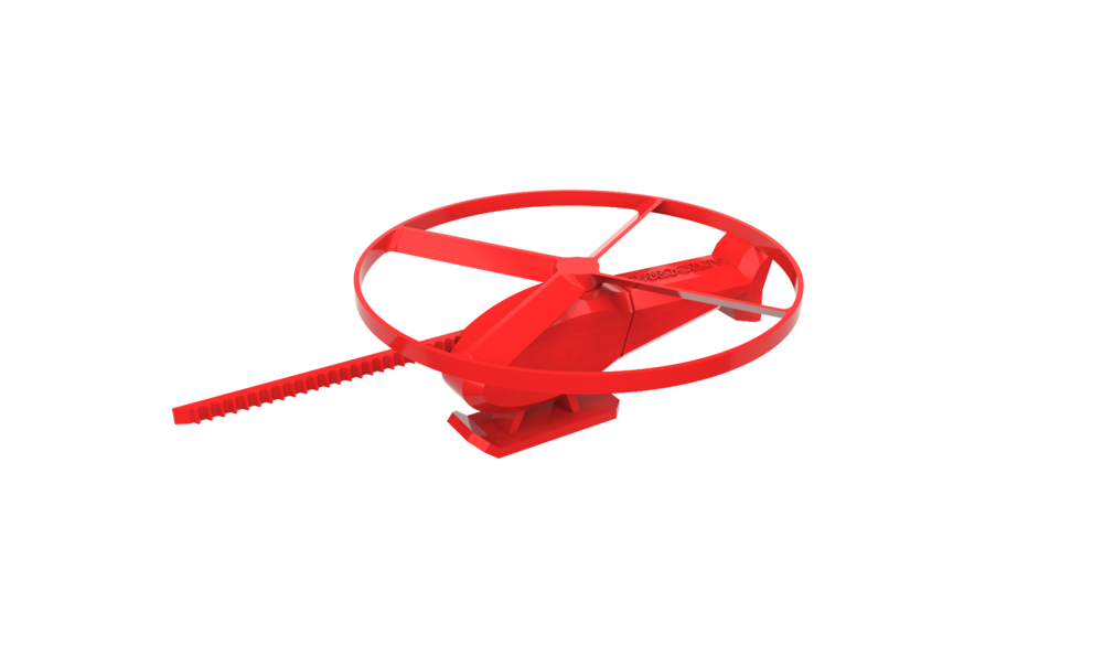Helicopter Toy with Rotors