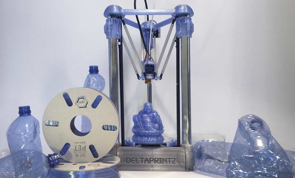 PET 3d printing filament recycled