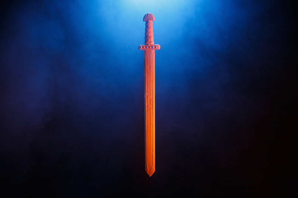 3D Laser Scanning - 3D Props - The Sword - Vikings 3D Prophecy