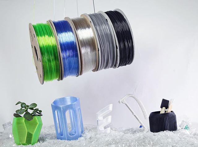 Refil USA recycled 3d printer filament 3d printing bottles