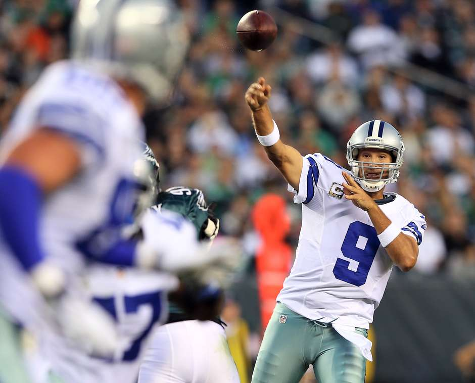Tony Romo suffered another back injury...but he'll playing again this season if he can beat out young wunderkind Dak Prescott to get his job back.