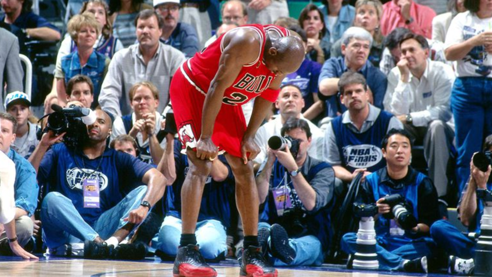 The Flu Game - Michael Jordan