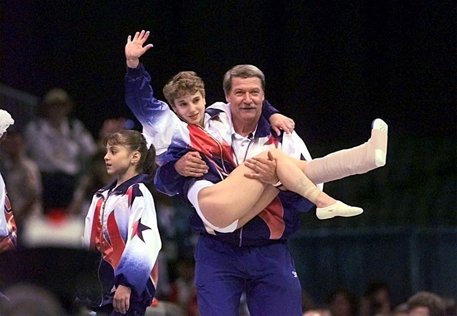 The Heavenly Landing - Keri Strug helps U.S. win gold on a sprained ankle