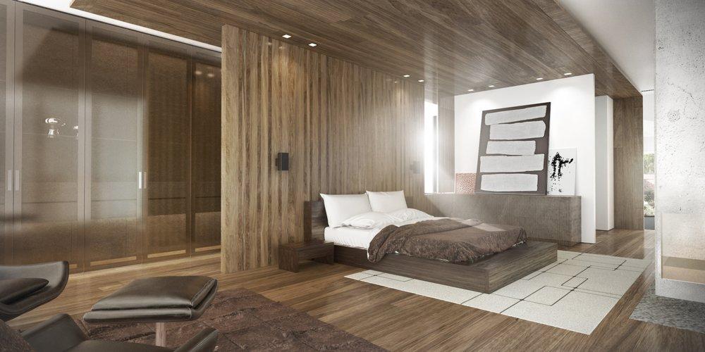 House rendering 1 – architecture interior design - MONOMO