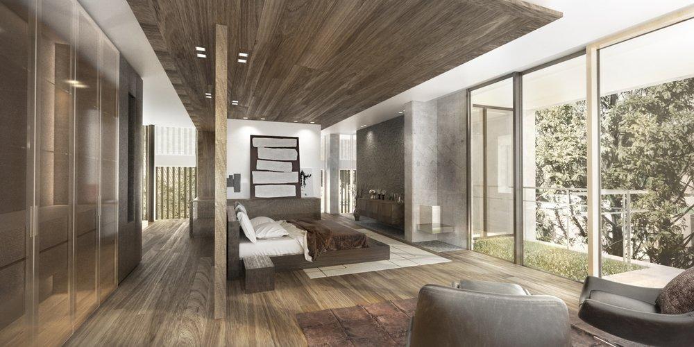 House rendering 2 – architecture interior design - MONOMO