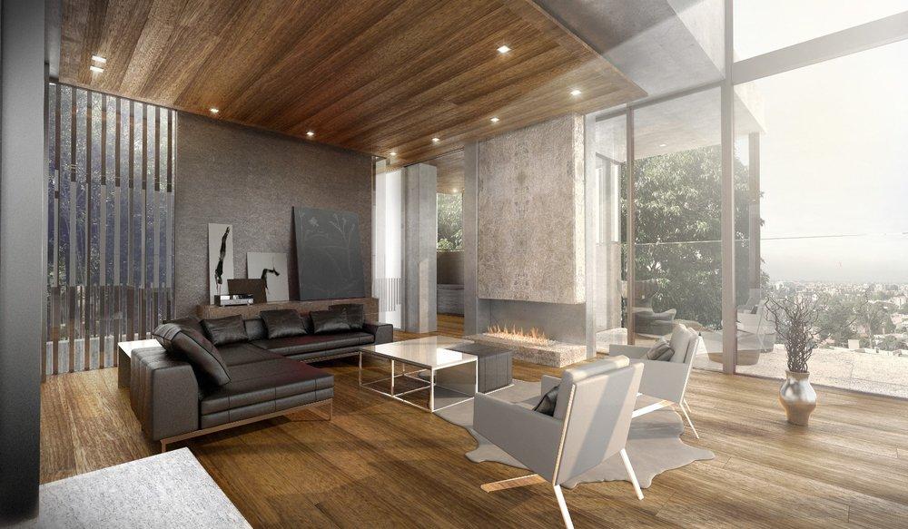 House rendering 4 – architecture interior design - MONOMO
