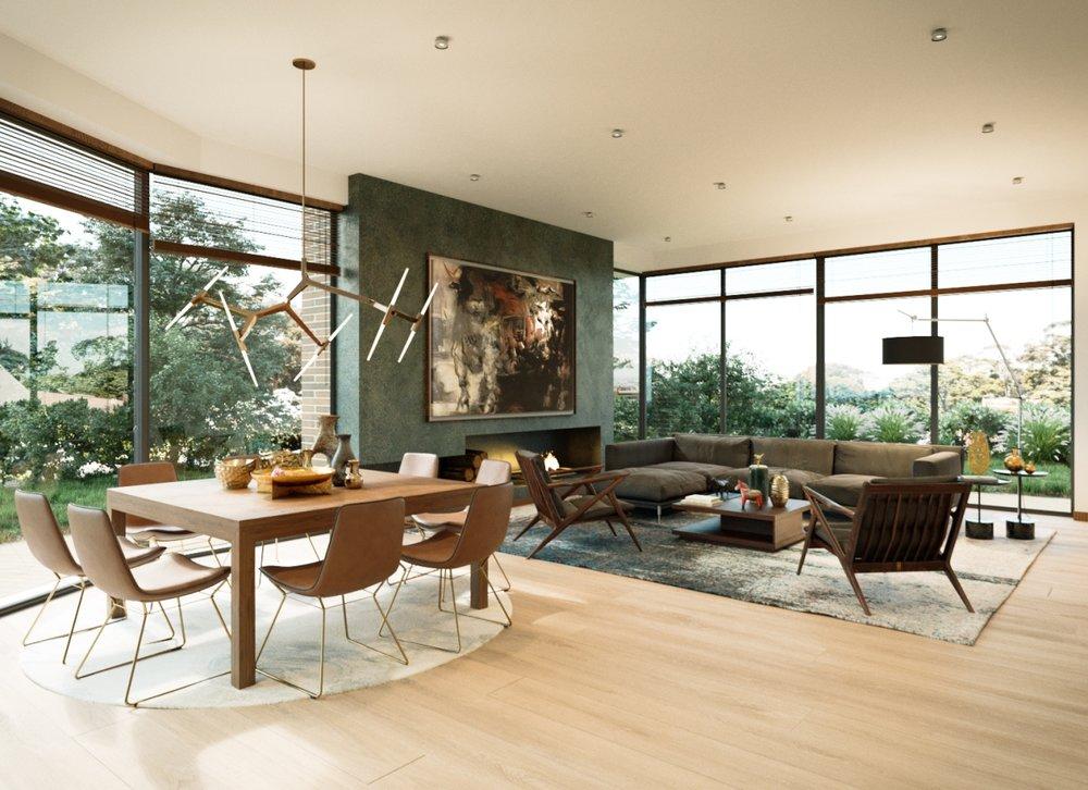 House rendering 14 – architecture interior design - MONOMO