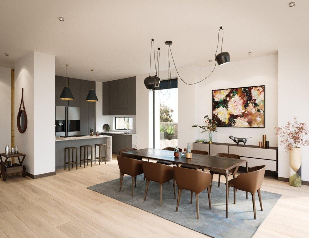 House rendering 16 – architecture interior design - MONOMO