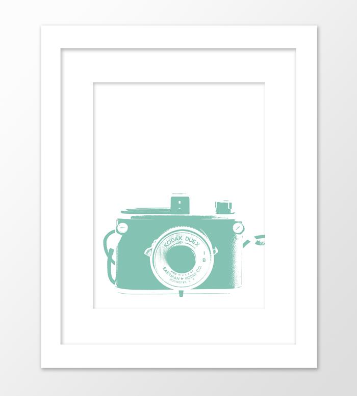 """Camera, Mint Green"""