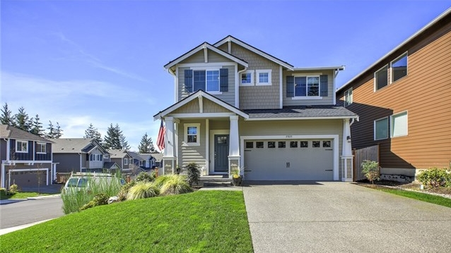 Federal Way, Washington //  SOLD at $527,950