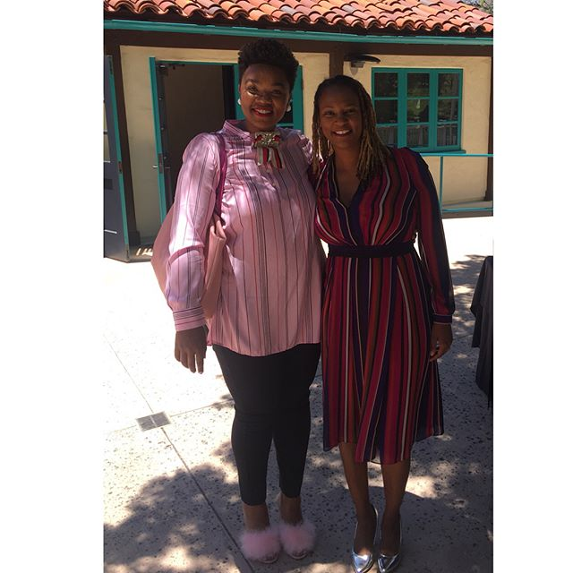 My Butterfly graduated from Queen Mother, Assemblywoman, Dr. Shirley Webber's leadership program today. Stripes are perfect for audacious public leadership! #thenewlookofleadership #butterfly #notyouraveragestylist #love #lovemyclients #blackgirlmagic #yas #yes #sandiego