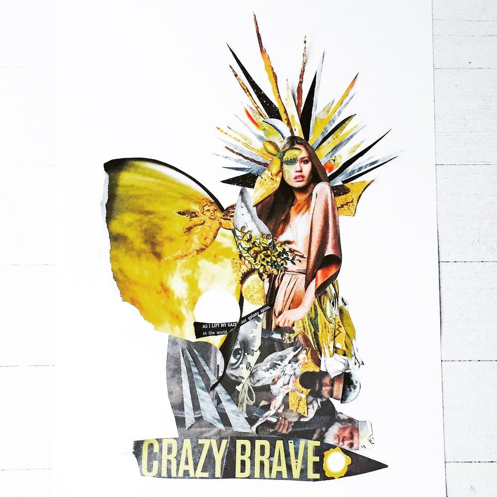 'Crazy Brave' 2015 by Madeleine Grummet