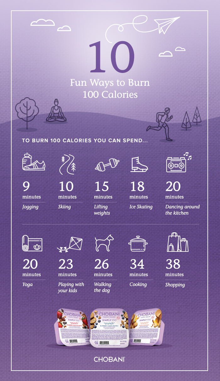 chobani-10-ways-to-burn-100-calories
