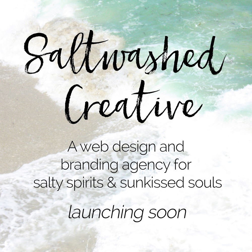 My Web and Branding design business for creative spirits (including bloggers!) is launching soon!