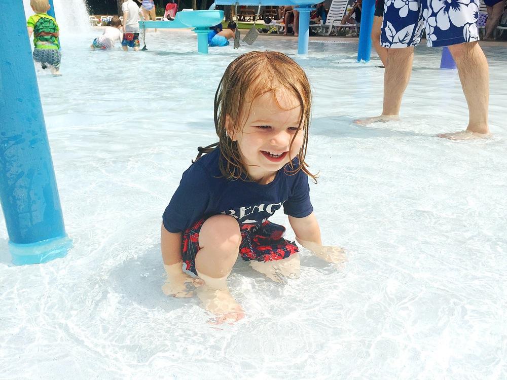 Swimming and Splashing!