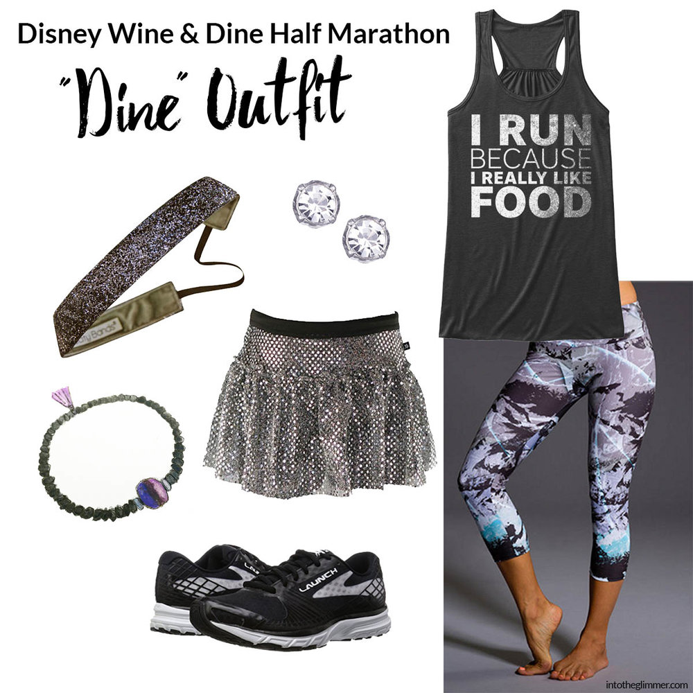 Wine and Dine Run Disney Outfit