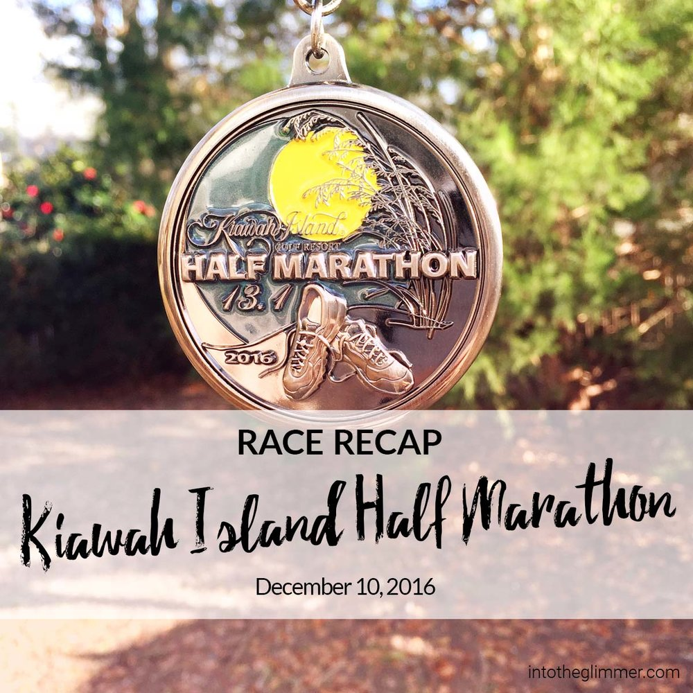 I love the Medal for this race!