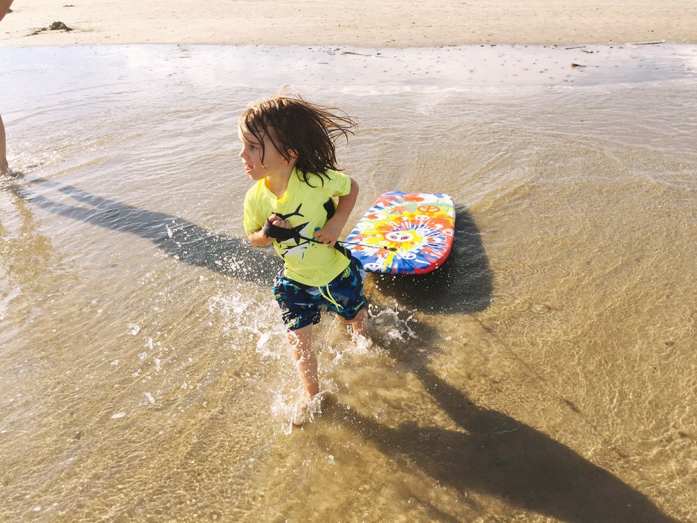 little surfer boy