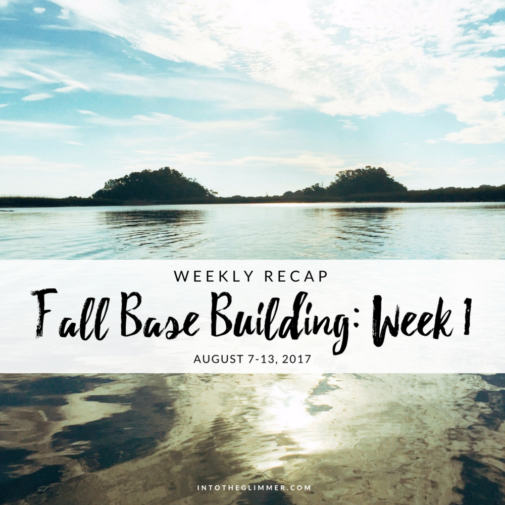 fall base building week 1
