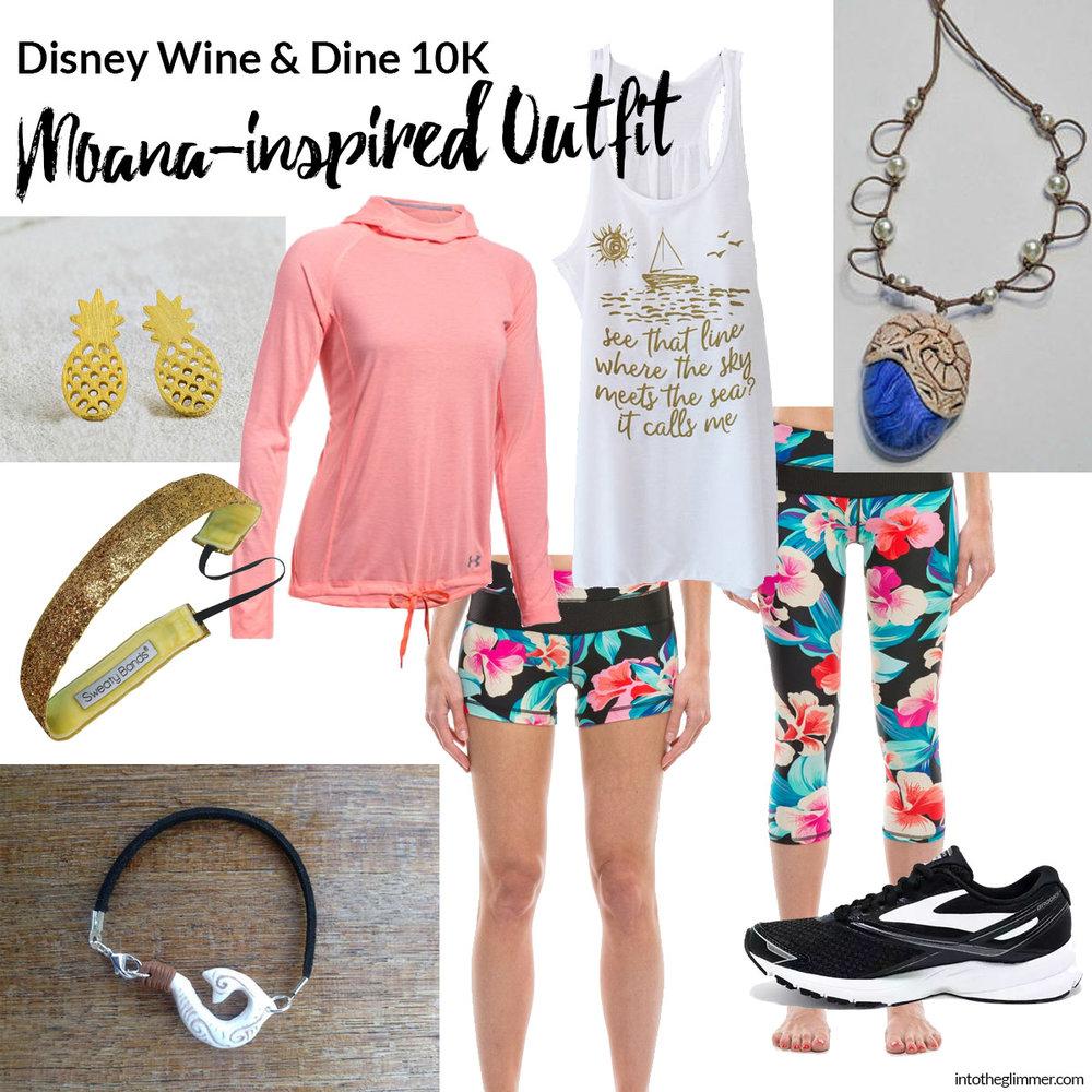 disney 10K Moana outfit