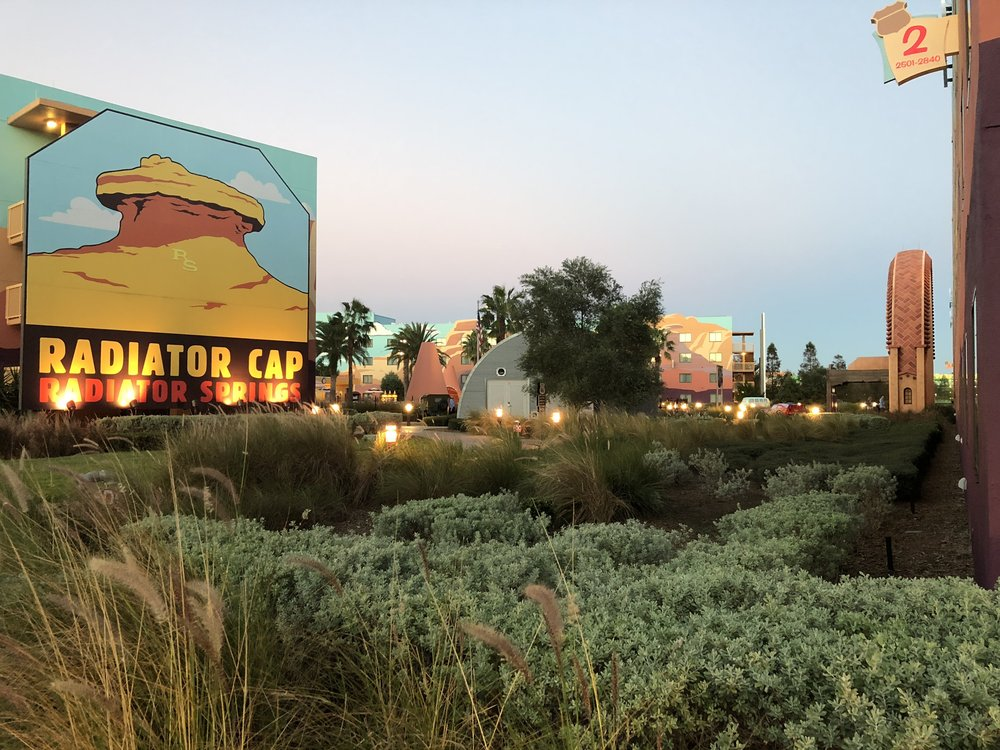 Welcome to radiator Springs (Art of Animation resort)
