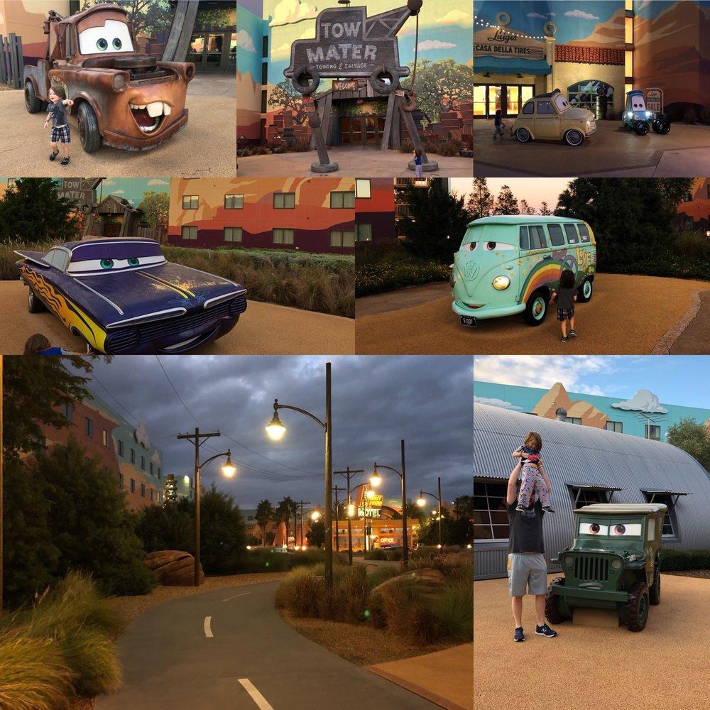 Art of Animation - So many Cars!