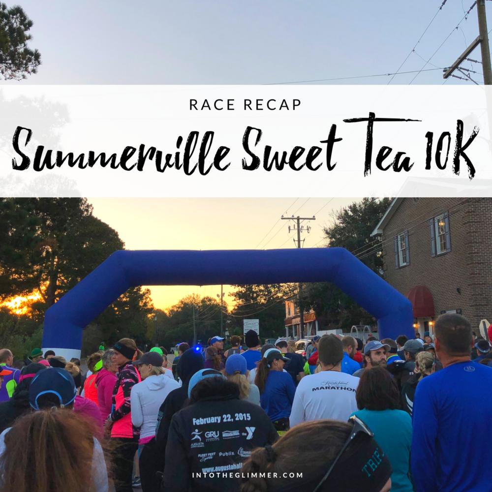 summerville sweet tea 10K race recap