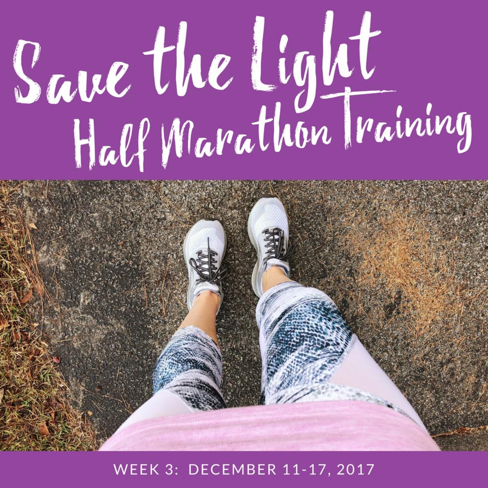 save the light training week 3