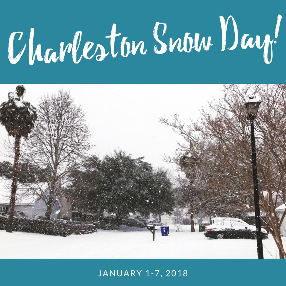 charleston snow day 2018