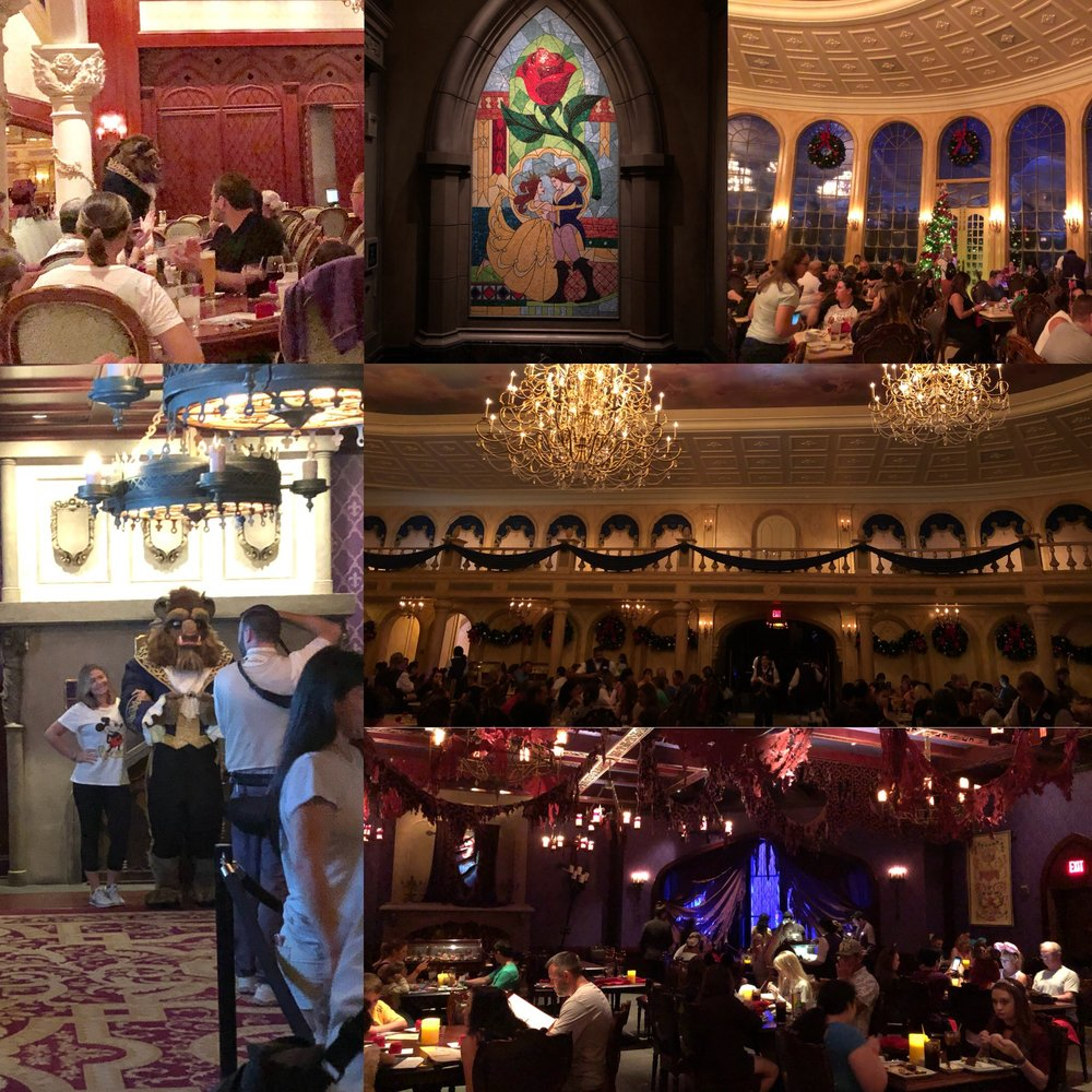 Dinner at Be Our Guest