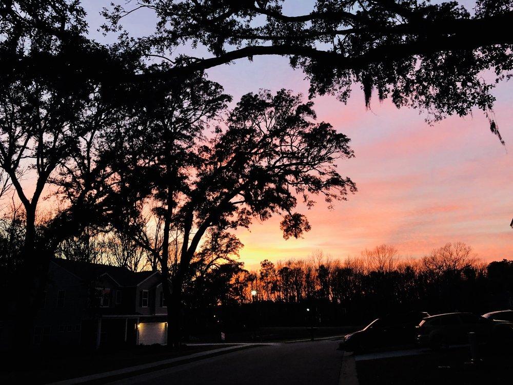 lowcountry sunset charleston