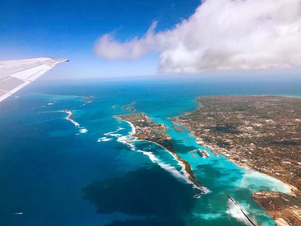 Bahamas from the sky