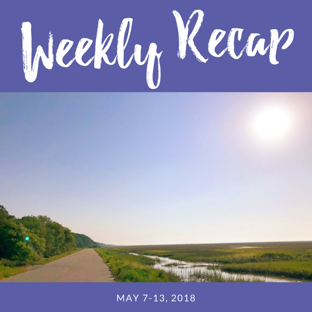 Weekly recap May 7-13