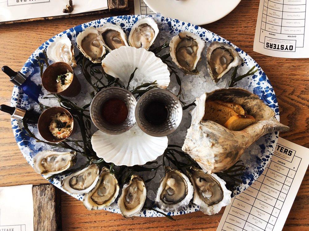 Salty, oyster deliciousness