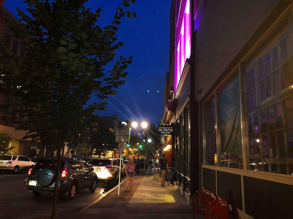 King Street at night