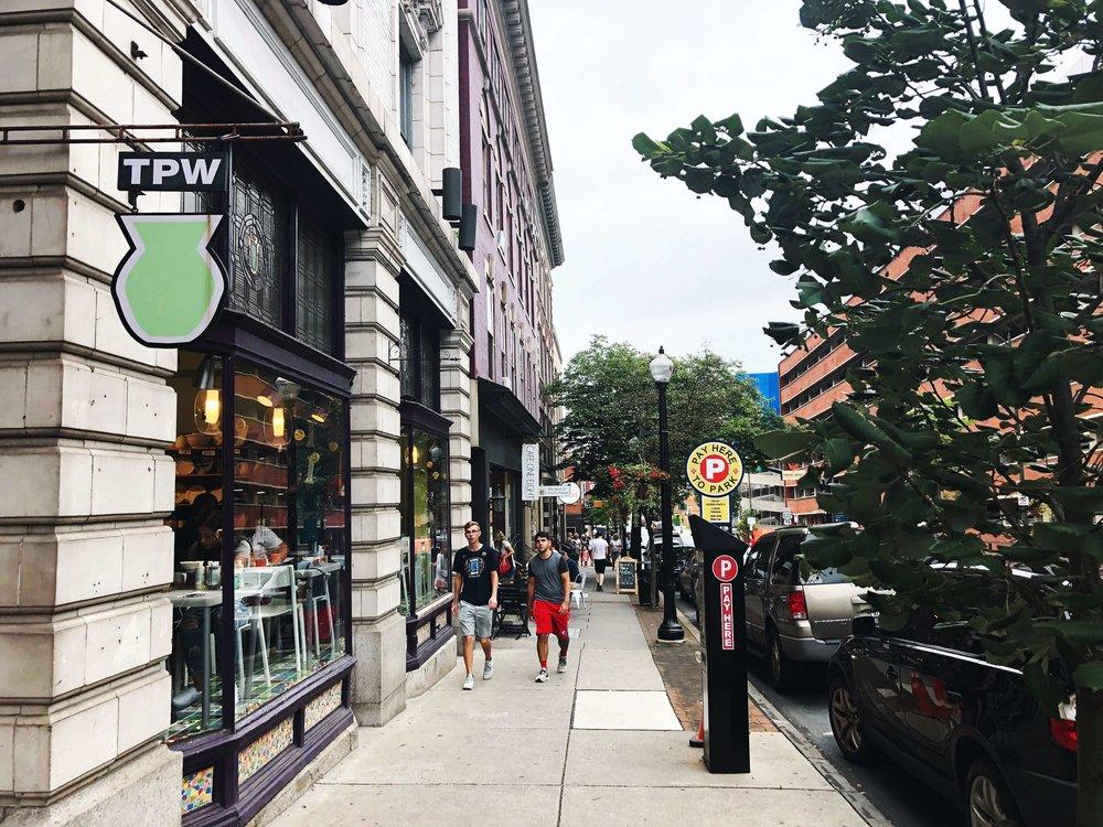 West Orange Street in Lancaster, Pa