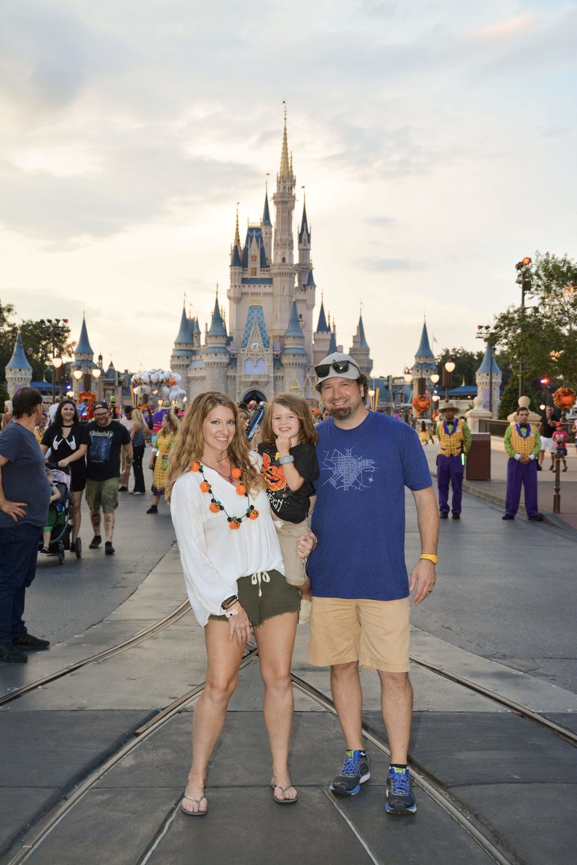 Magic Kingdom Family Photo Mickey's Not-so-scary Halloween Party