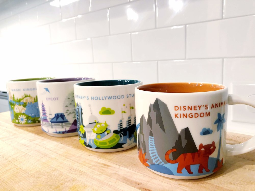 "My (finally) complete Disney Parks ""You are Here"" mug collection"