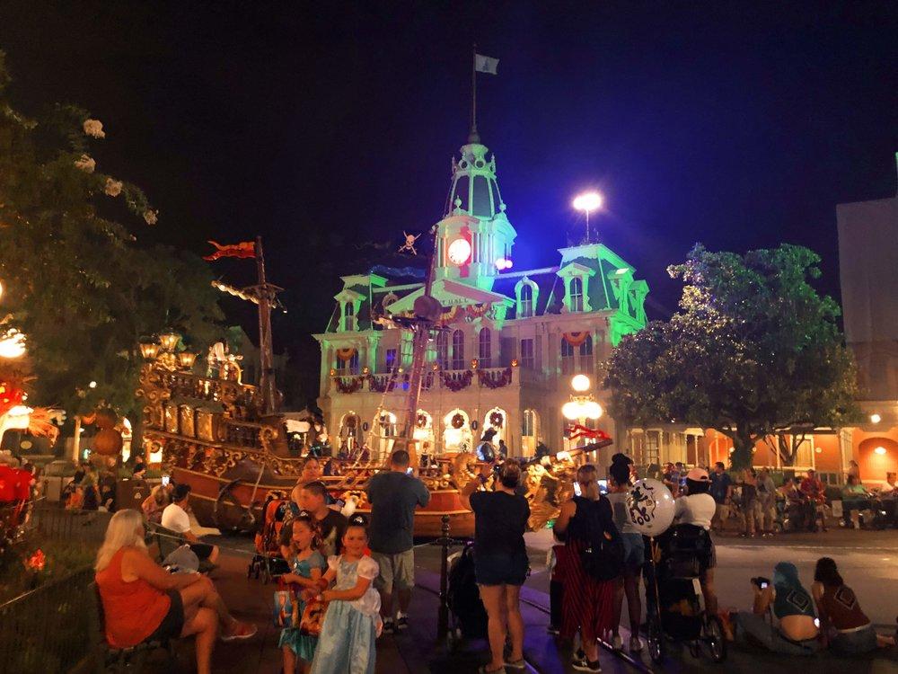 Main Street Magic Kingdom Halloween Parade