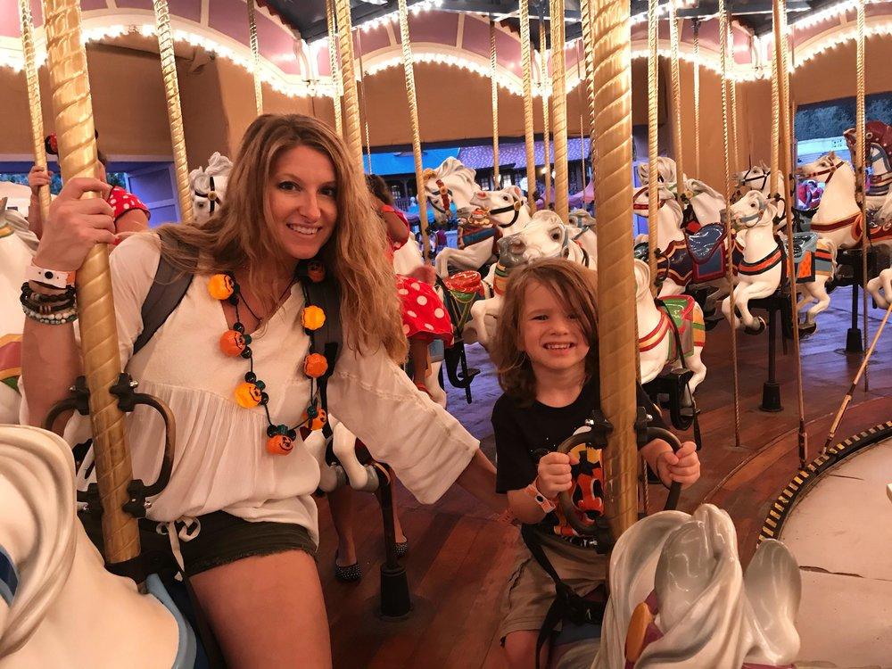 The Carousel at the Magic Kingdom