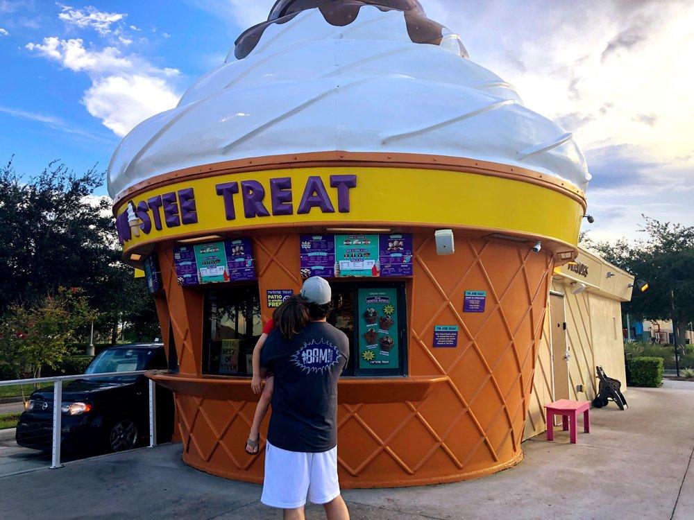 Ice cream at Tastee Treat