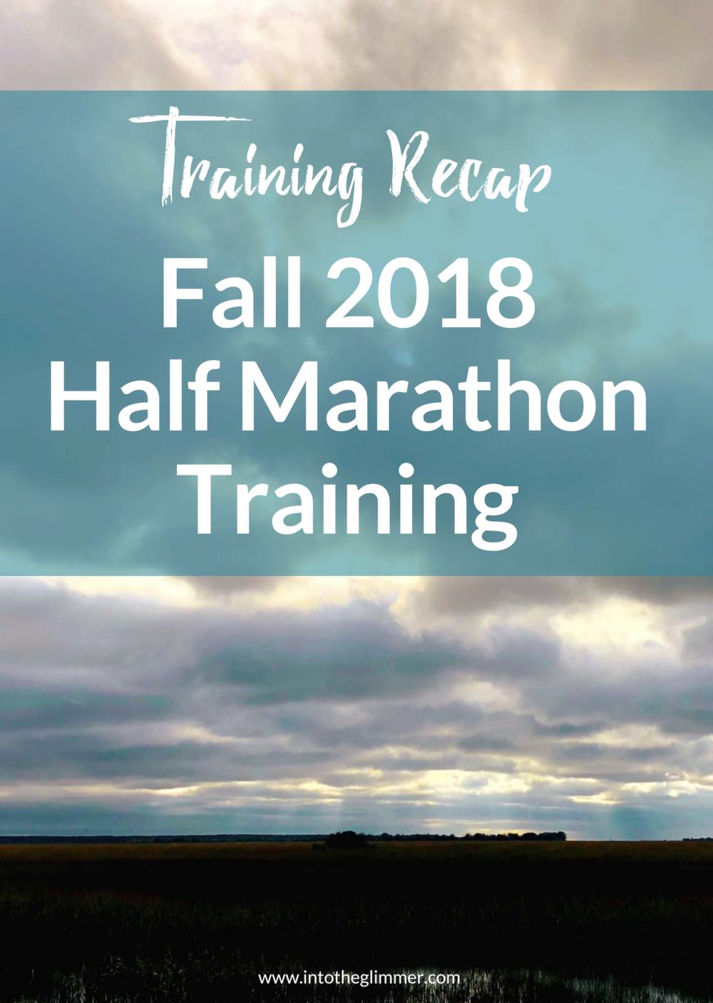 training recap wilmington historic half marathon into the glimmer