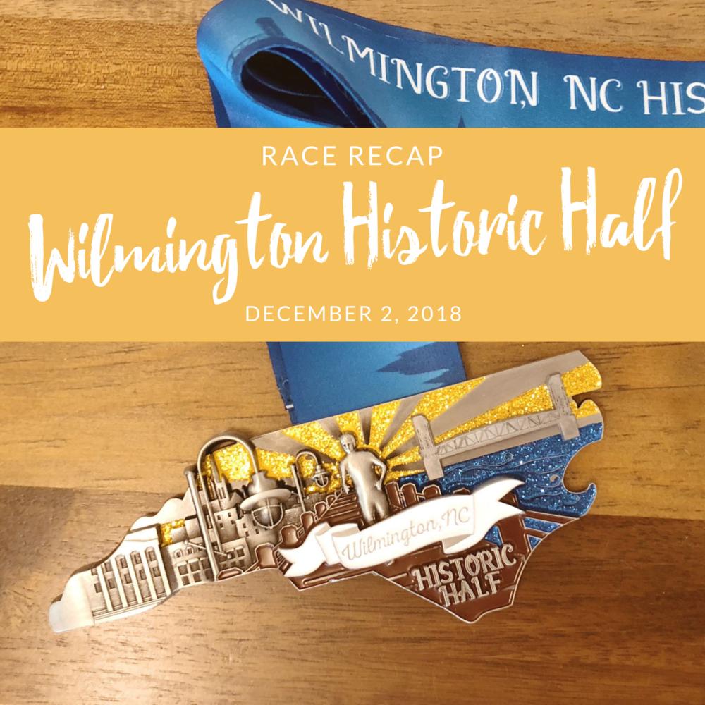 race recap wilmington historic half marathon 2018 into the glimmer