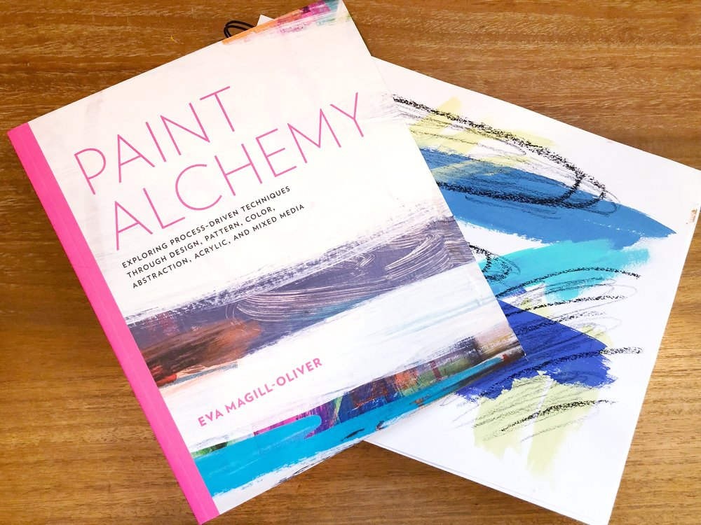Paint Alchemy by Eva Magill-Oliver