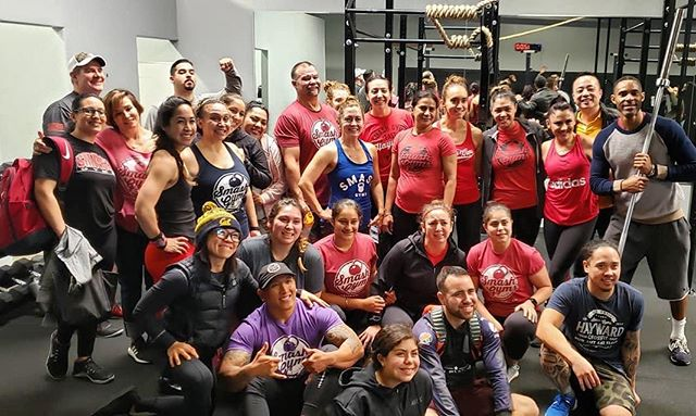 When everyone in the squad shows up on time, that's when you know it's about to go down! Memories are made here.  #VisionAboveAll #2019 #HoldTheStandard  The dream is real!  #CrossFit #Community