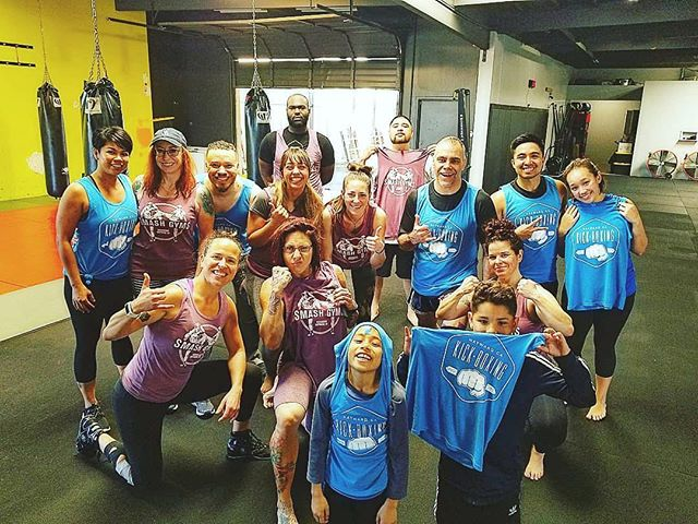 Another workshop in the books!!! Thanks to Coach @lydiaceline for keeping the calendar full. Keep your eyes and ears open for the next kickbox & conditioning workshop @smashgymshayward_ca #kickbox #community #shirts #sunday  Thank you to a supporters and participants!